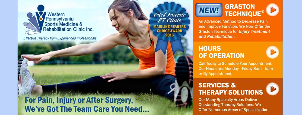 Western PA Sports Medicine & Rehab Clinic